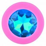 Анальная пробка Lovetoy Pink S