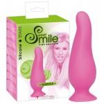 Анальная пробка Smile Hopper Plug Small pink