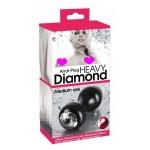 Анальная пробка Heavy Diamond Medium