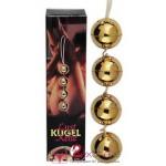 Вагинально-анальные шарики Orgasmuskugeln Gold 4er-Set
