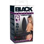 Анальная пробка Black Velvets Vibrating Plug Small