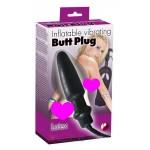 Анальный виброрасширитель Inflatable Vibrating Plug Latex