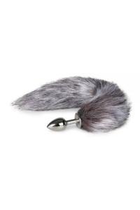 Анальная пробка с хвостиком Fox Tail Plug ,S