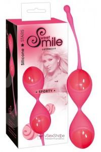Вагинальные шарики Smile Loveballs Sporty pink