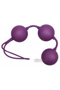 Вагинальные шарики Velvet Purple Balls