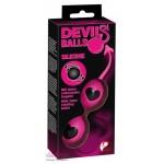 Вагинальные шарики Devil's Balls Pink
