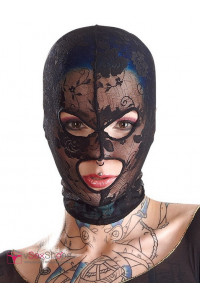 Кружевная маска Bad Kitty Exotic Wear Kopfmaske