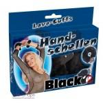 Наручники с черным мехом Hands-chellen black