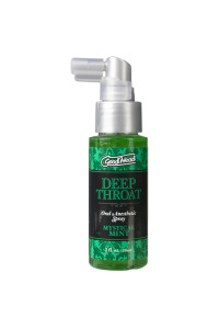 Спрей для минета Doc Johnson GoodHead DeepThroat Spray – Mystical Mint 59 мл для глубокого минета