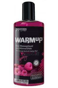 Съедобное массажное масло Warm-up Raspberry 150ml