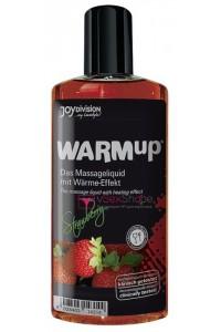 Съедобное массажное масло Warm-up Strawberry 150ml