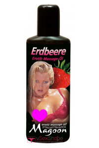 Массажное масло Magoon Erdbeere Erotik Massage oil 100ml