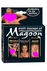 Набор массажных масел Magoon 3-set Massage oil 50ml