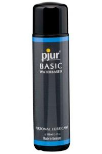 Смазка на водной основе pjur Basic waterbased 100 мл, идеальна для новичков, лучшее цена/качество