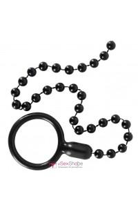 Кольцо на пенис с анальной цепочкой Cock Ring & String Beads