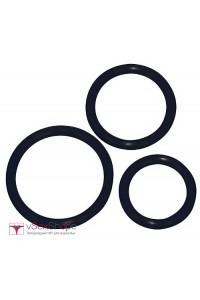 Набор эрекционных колец Sexy Circles Black