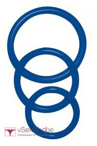Набор эрекционных колец Sexy Circles Blue