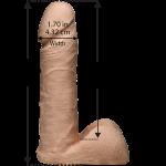 Страпон Doc Johnson Vac-U-Lock - 7 Inch ULTRASKYN Ultra Harness
