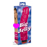 Вибратор Big Jelly pink