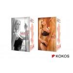 Мастурбатор Kokos Elegance 001 DL, 16 см (двухслойный)