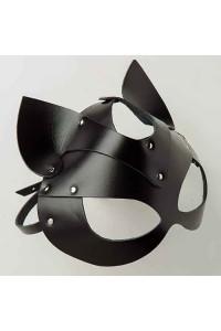 Маска Кошка Leather, Black