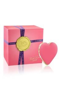 Вибратор-сердечко Rianne S: Heart Vibe Coral, 10 режимов работы, медицинский силикон, подарочная упаковка