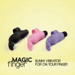 Magic Finger Vibrator Black FeelzToys вибратор на палец