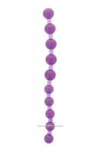 Анальная цепочка Jumbo Jelly Thai Beads Carded