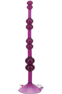 Анальная цепочка love throb purple