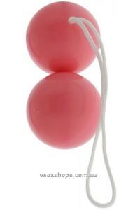 Вагинальные шарики vibratone duo balls pink blistercard