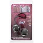 Вагинальные шарики marbilized duo balls black