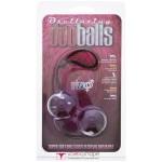 Вагинальные шарики Marbelized duo balls purple