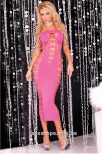 Платье Big Spender seamless long dress Pink PL7225012P Pink Lipstick