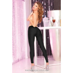 Леггинсы Sleek and shiny black leggings PL7226001B Pink Lipstick