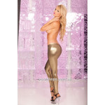 Леггинсы Gold digger ankle zip pants PL7226002 Pink Lipstick
