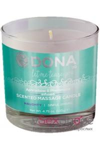 Ароматическая свеча для массажа Dona Scented Massage Candle Naughty