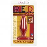 Анальная пробка Doc Johnson Red Boy - Medium 5.5 Inch