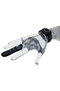 Вибратор на палец Adrien Lastic Touche (L) для глубокой стимуляции с пультом управления на руке