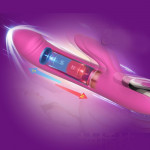 Вибратор-пульсатор Leten Automatical Thrusting Vibrator с подогревом